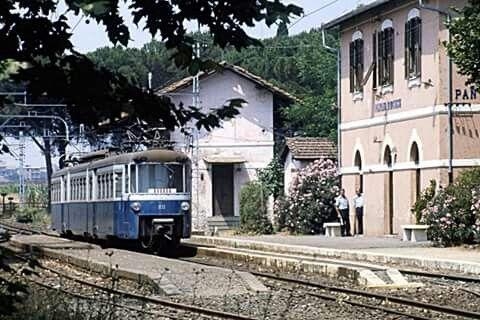 Stazione di Pantano anni 70