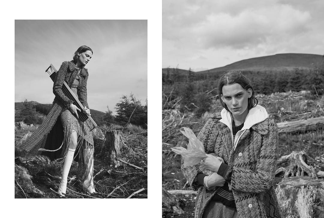"""New Work for @stylebymagazine w/ @columbinesmille @lenaobao @itslyndell @lucyjbridge @ellenpn @niklasbergstrand @lundlundagency @jedroot #work #editorial…"""