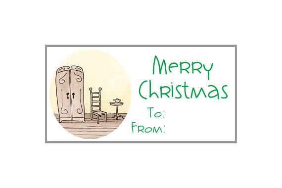 Download Printable Gift Tags Labels Stickers X Merry Christmas