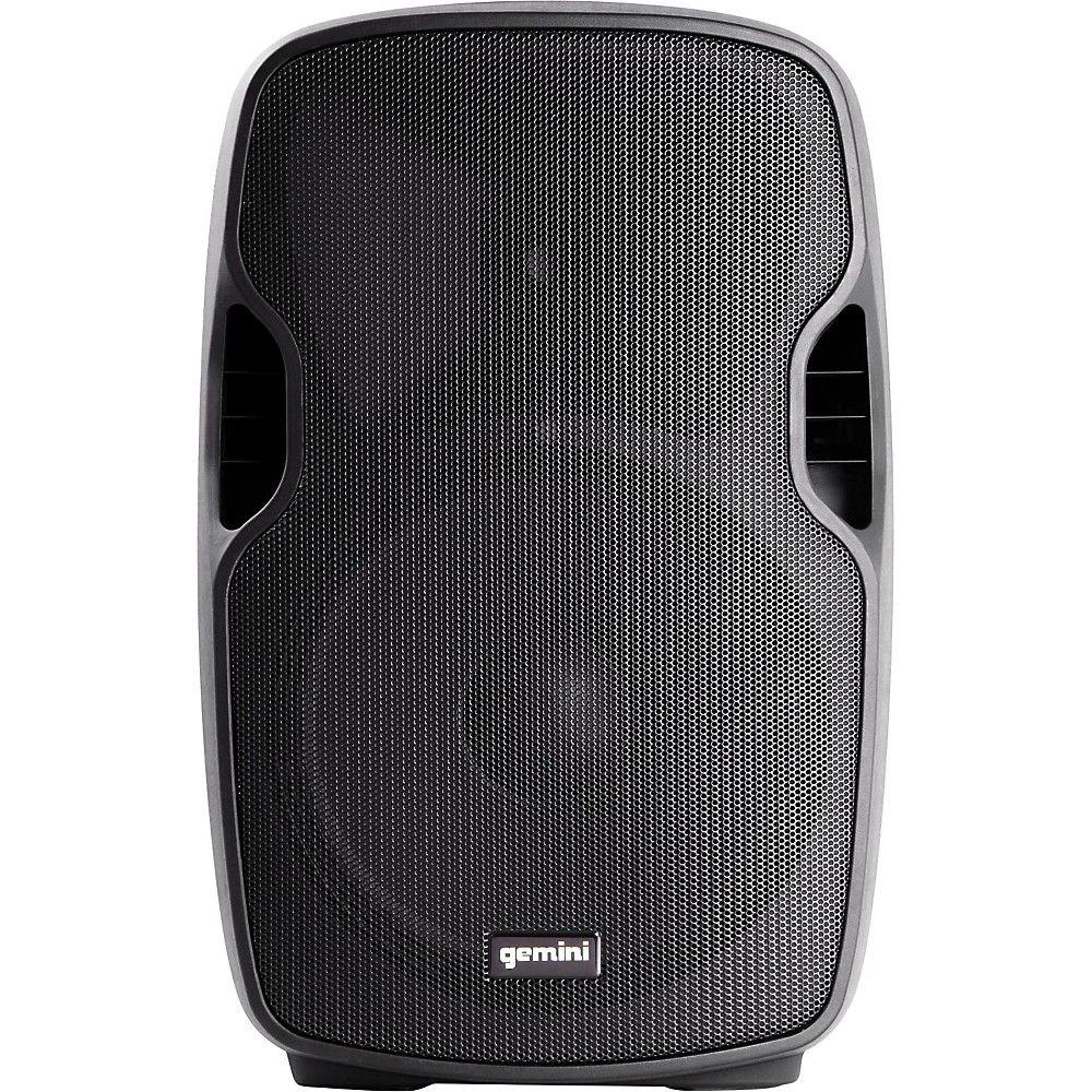 Gemini as12p 12 in powered speaker powered speakers