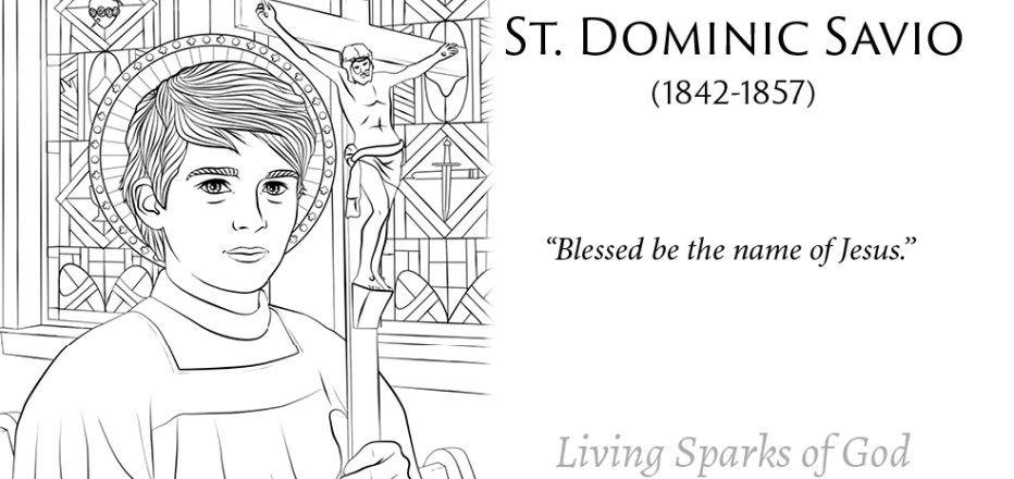 St Dominic Savio Saints For Kids Saints For Kids Catholic
