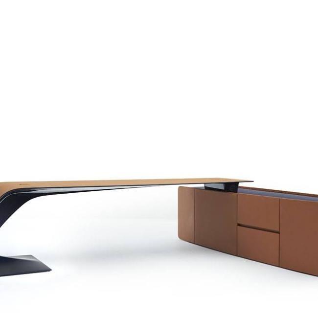Luxury living ettore grand bureau desk office for Grand bureau