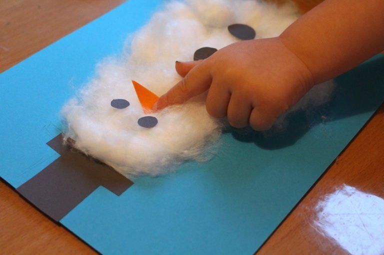 Basteln mit Kindern // 3 Winter-DIY Schneemann-Ideen - FILEA