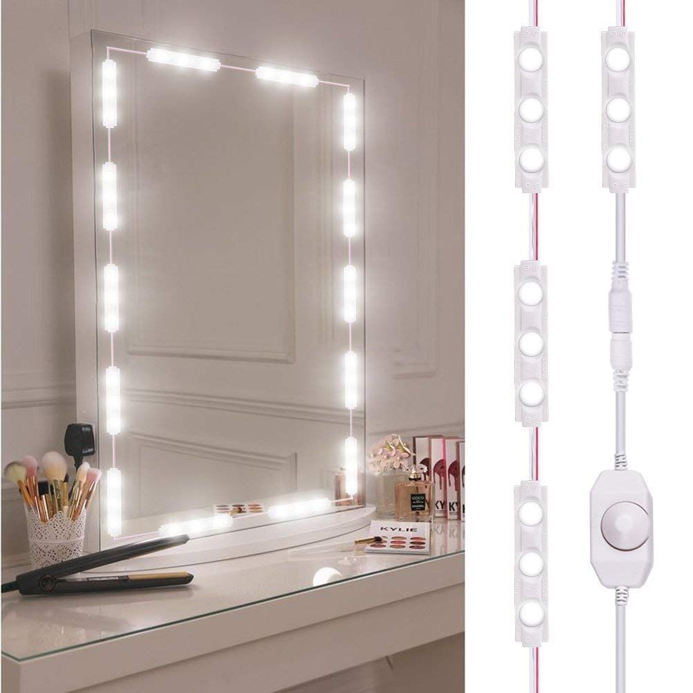 Why We Need A Led Vanity Mirror Light Do You Worry About The Color Difference When You Makeu Diy Vanity Mirror Led Vanity Lights Diy Vanity Mirror With Lights
