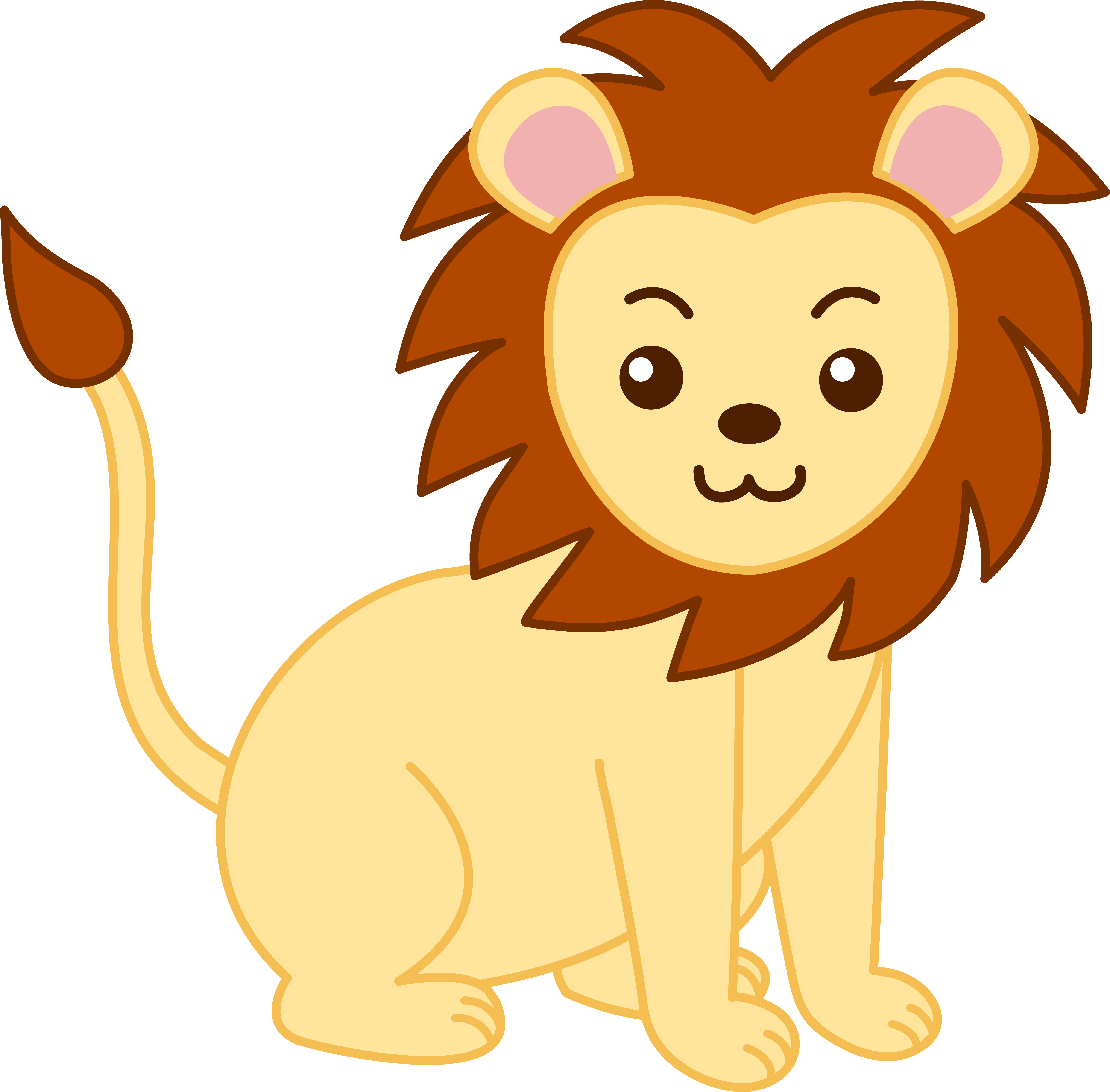 zoo animals clipart free large images [ 5171 x 5087 Pixel ]