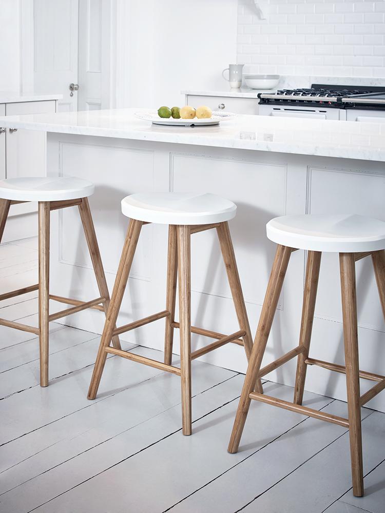 New Aalto Bar Stool White In 2020 Wooden Bar Stools Home Decor Kitchen Modern Bar Stools