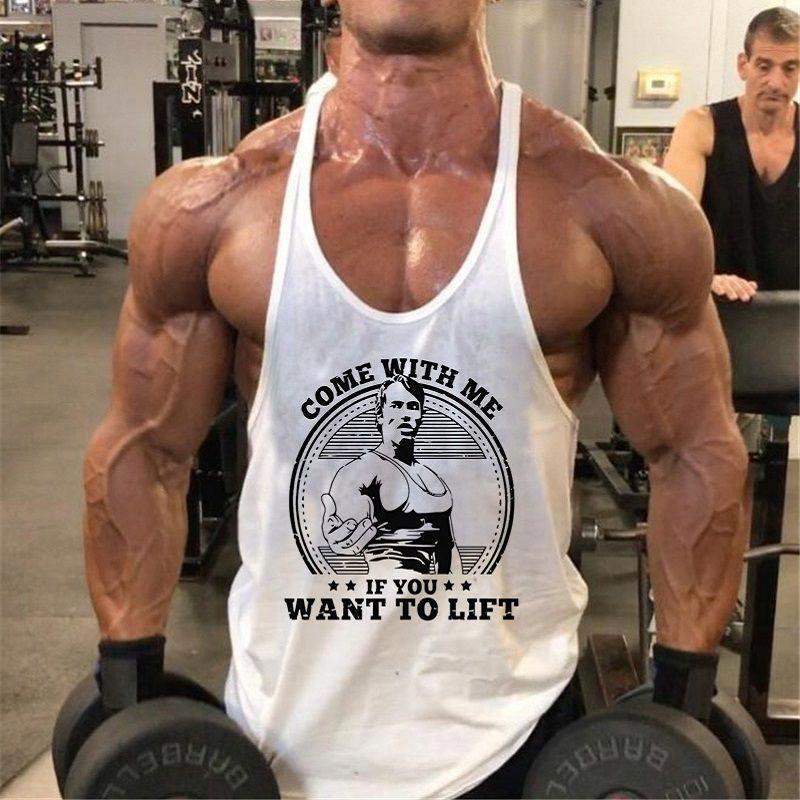 Cdon Mens Muscle Sleeveless Tank Top Tee Shirt Bodybuilding Sport Fitness Vest