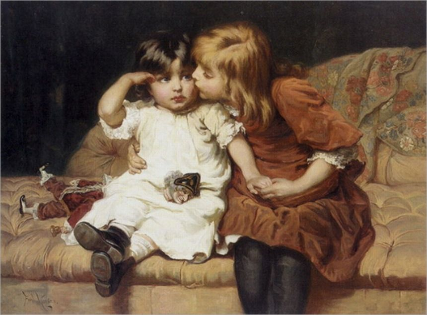paintings by Frederick Morgan | FREDERICK MORGAN e ARTHUR JOHN ELSLEY – Galeria Rehs