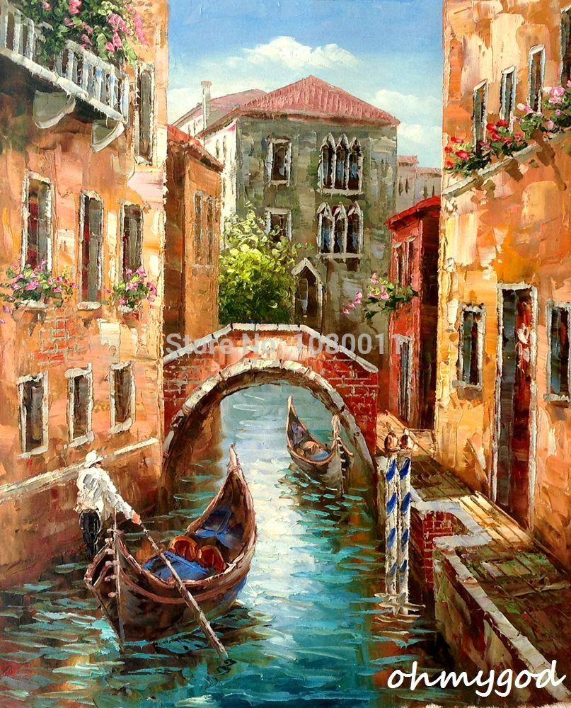 Cuadros Al Oleo De Venecia Great Photo Painting For Reference Just Perfect For The Use Of