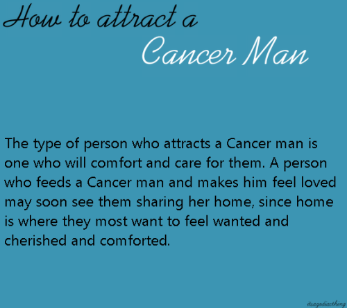 most compatible with cancer male