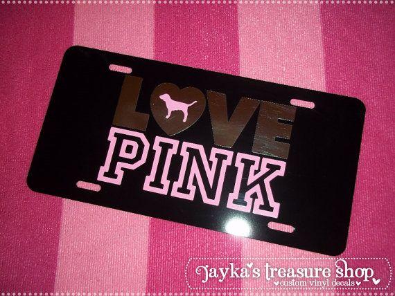 Victoria's Secret LOVE PINK Black Pink and by JaykasTreasureShop ...
