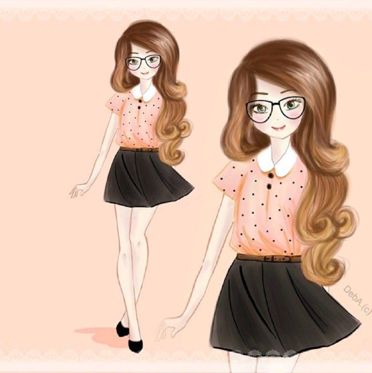 Zoella Anime Drawing