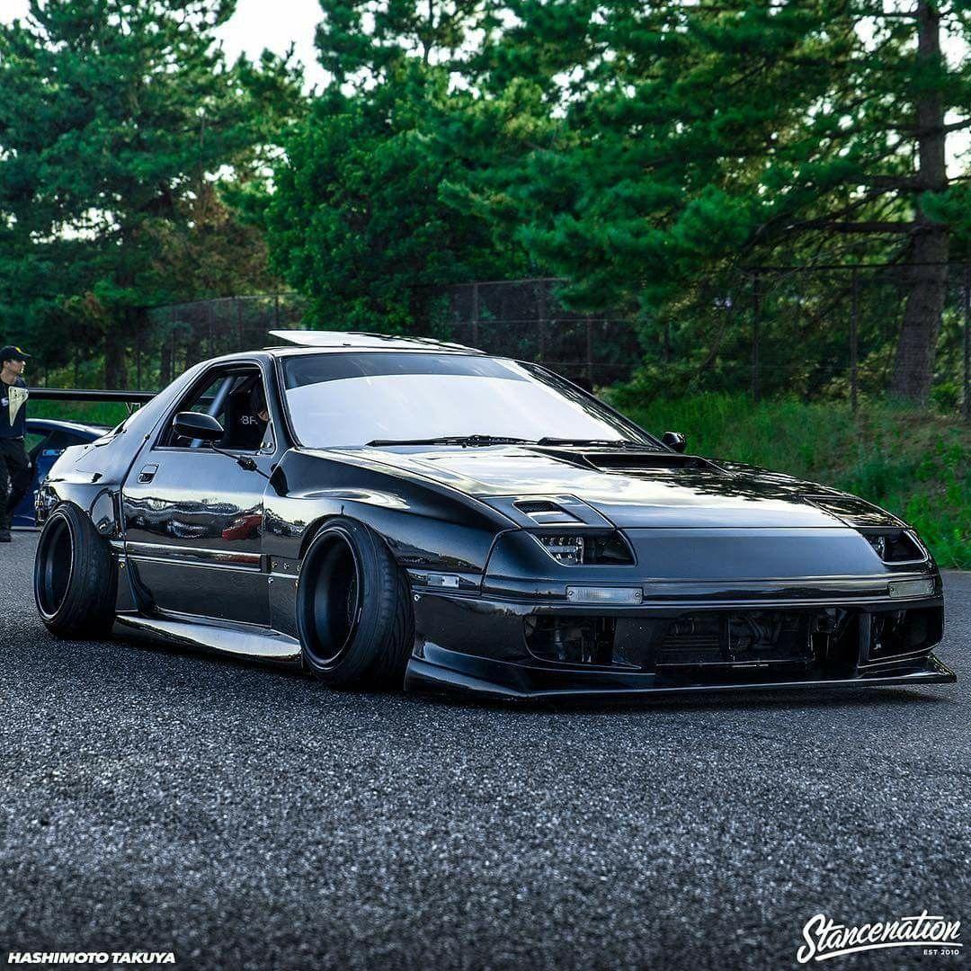 Drifting Cars Black Car Girls Custom Stance Nation Dream Honda Prelude Nissan Silvia Rx7