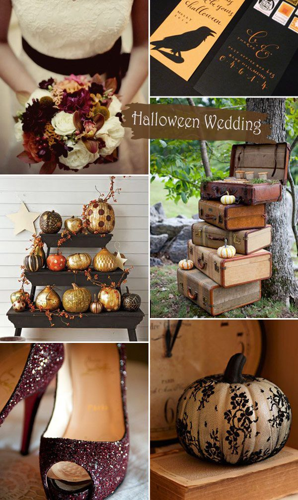 Top 8 Halloween Themed Wedding Ideas and Wedding Invitations ...