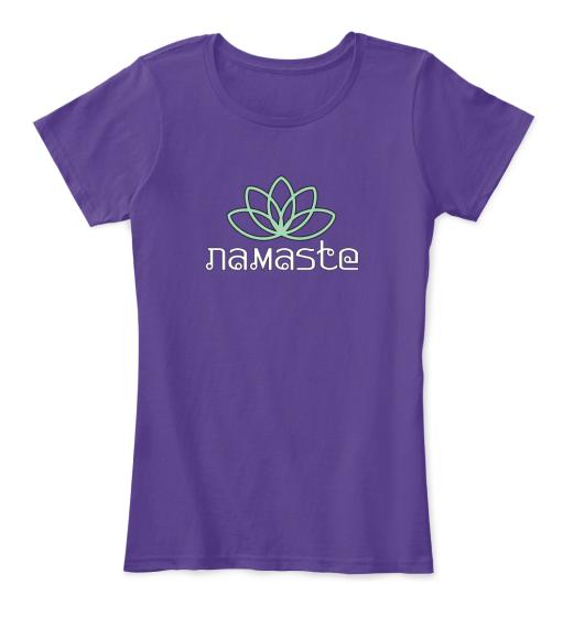 Namaste Color Ladies T-shirt   Teespring