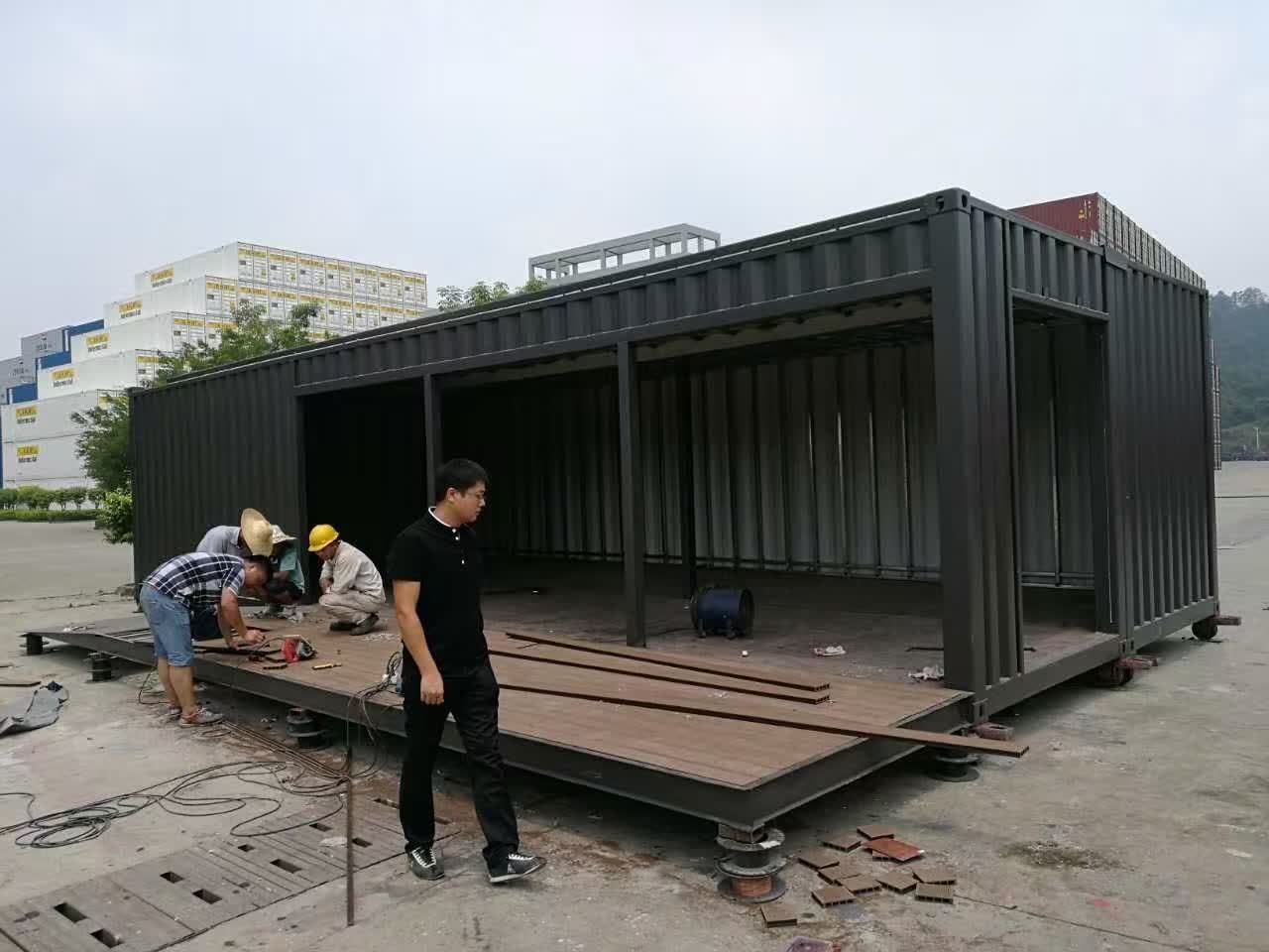 40'' Luxury Expandable Hotel Design Prefabricated ...
