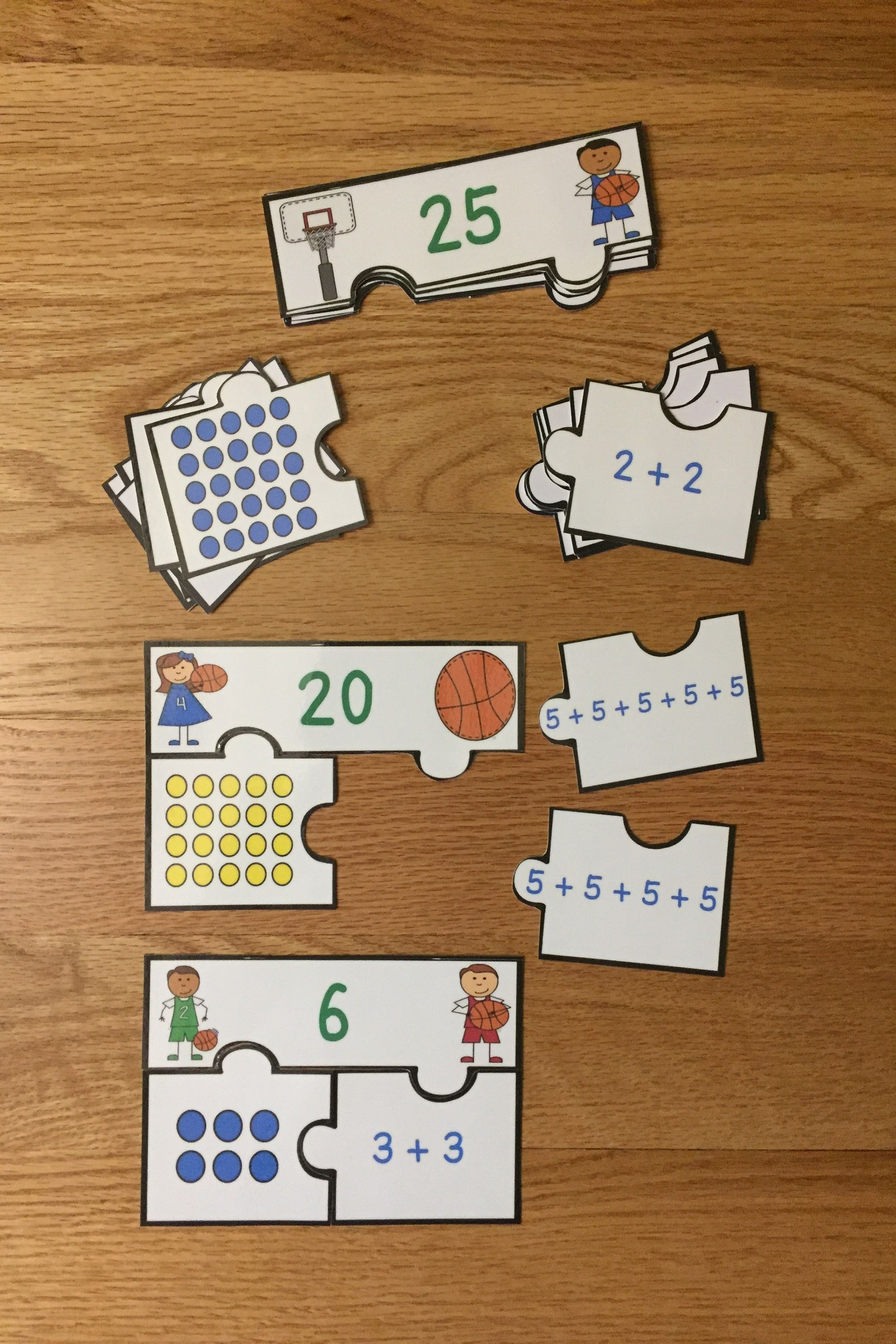 Array Repeated Addition Game Puzzles For Repeated Addition Array Activity 2 Oa 4