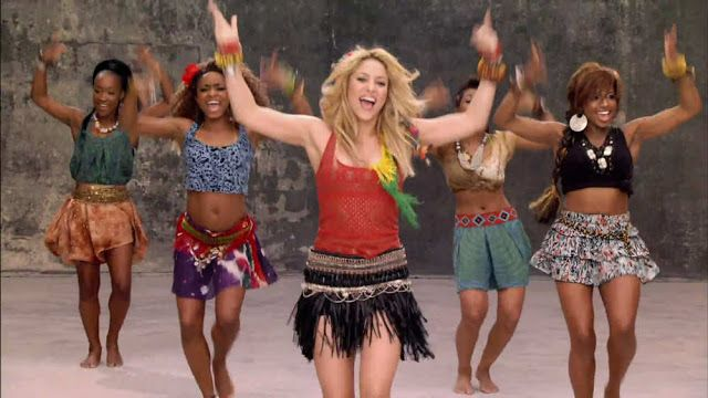 Efeito Borboleta Danca Shakira Outfits World Cup Song Shakira Photos