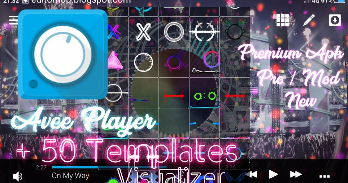 Download Avee Player Pro New Free 50 Templates Visualizer Editor Noob Di 2020 Ilustrasi Grafis Manipulasi Foto Bingkai Foto