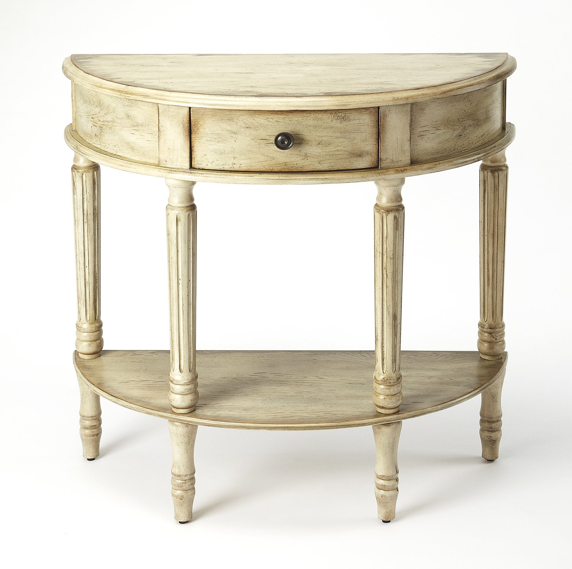 Beatrice Demilune Console Table