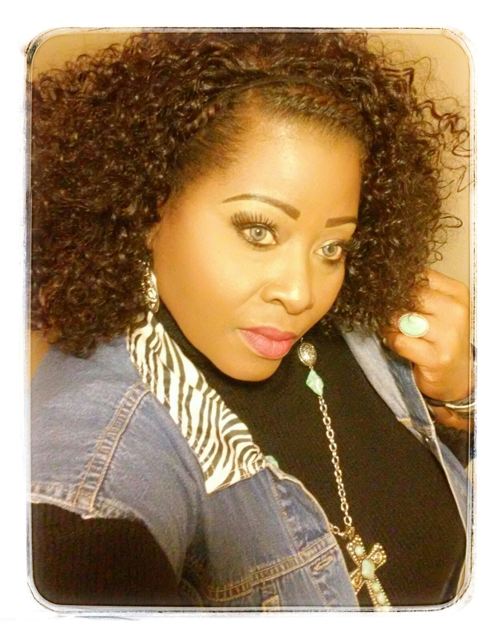 My protective hair style....