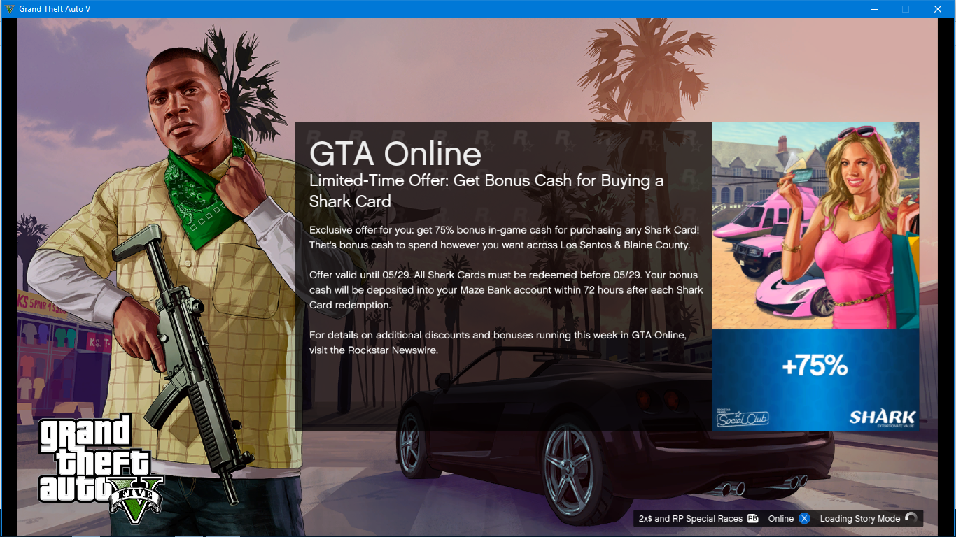 Gta 5 Cash Card Bonus