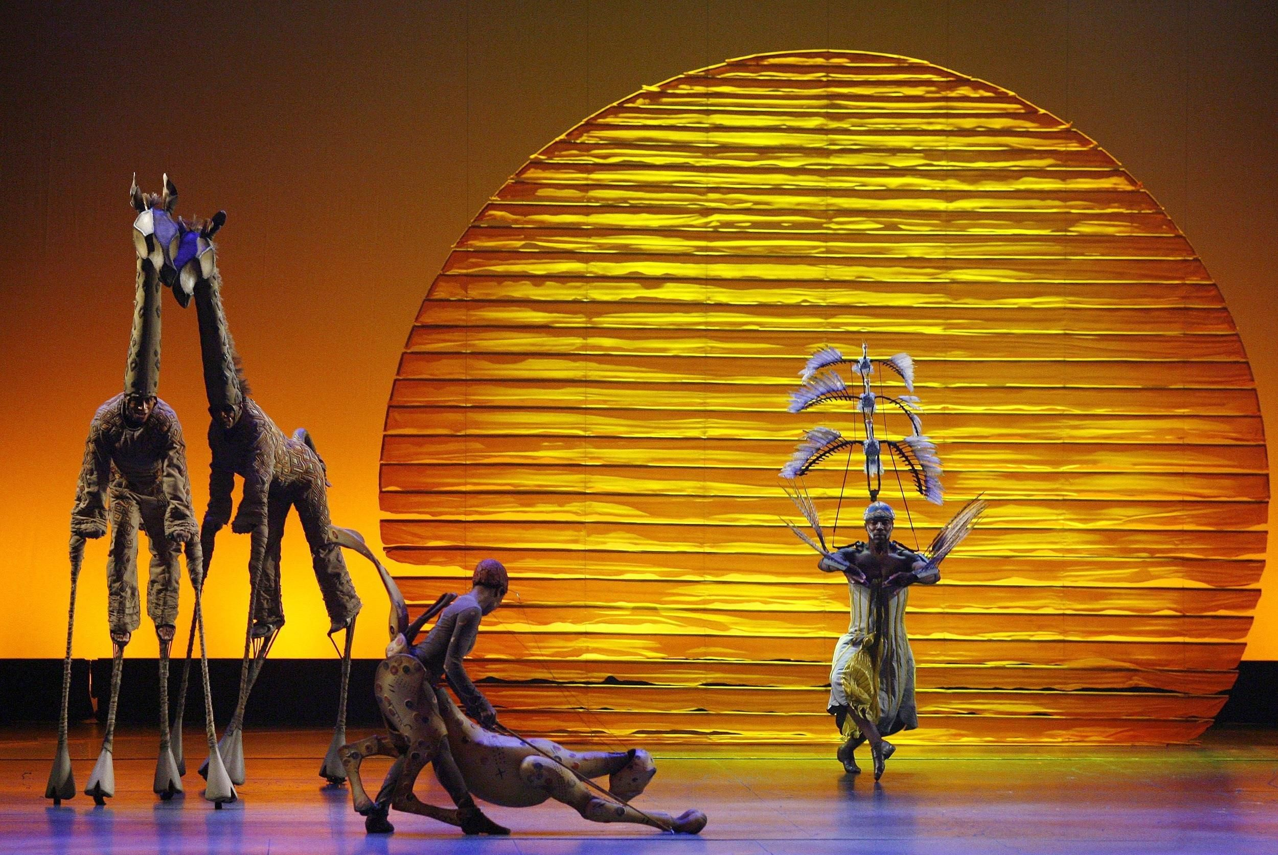 Lion King Musical Lands All Time Box fice Record NBC News
