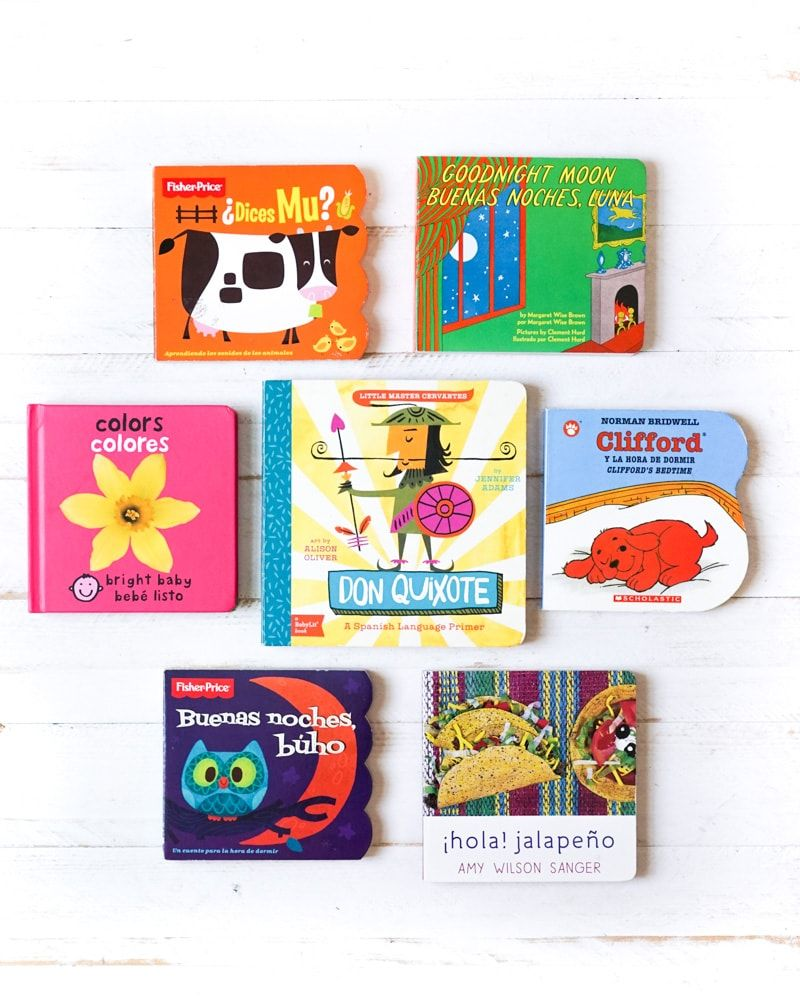 Our favorite spanish baby books spanish books for kids