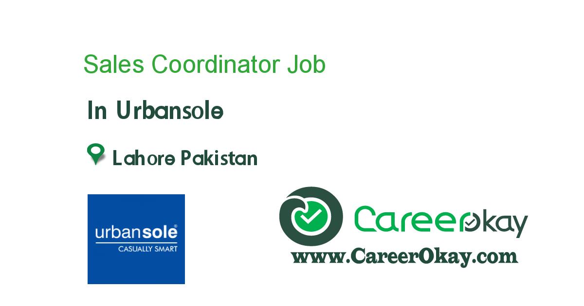 Sales Coordinator Support officers, Jobs in pakistan