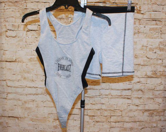 True Vintage 80s 90s Everlast Fitness Aerobics Retrosweat