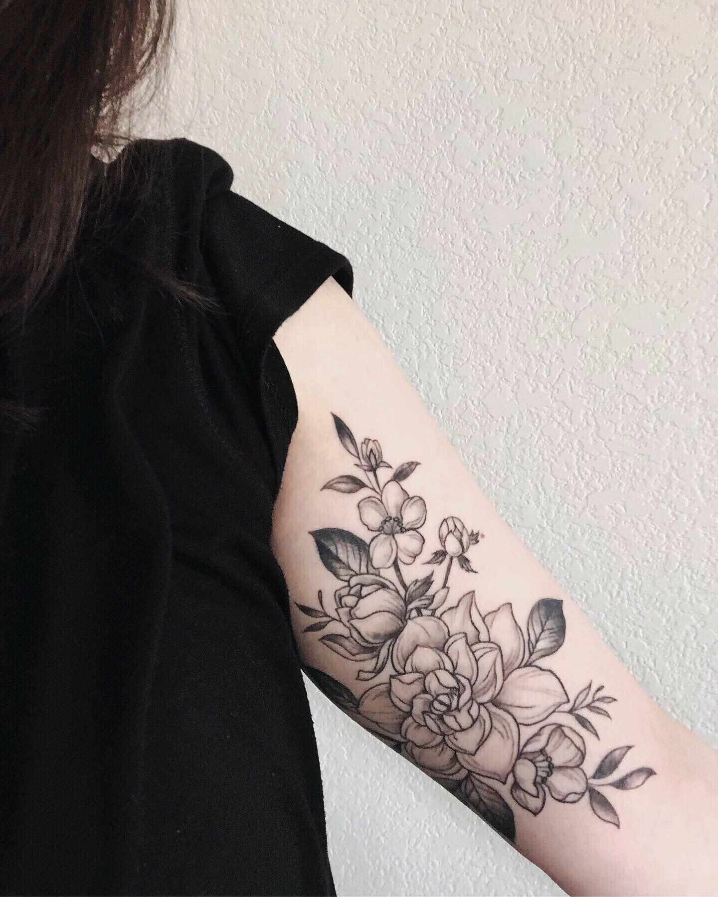 Gardenia Tattoo Gardenia Tattoo Tattoos Small Back Tattoos