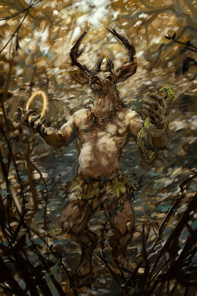 Wiccan God | Cernunnos, Celtic gods, Herne the hunter
