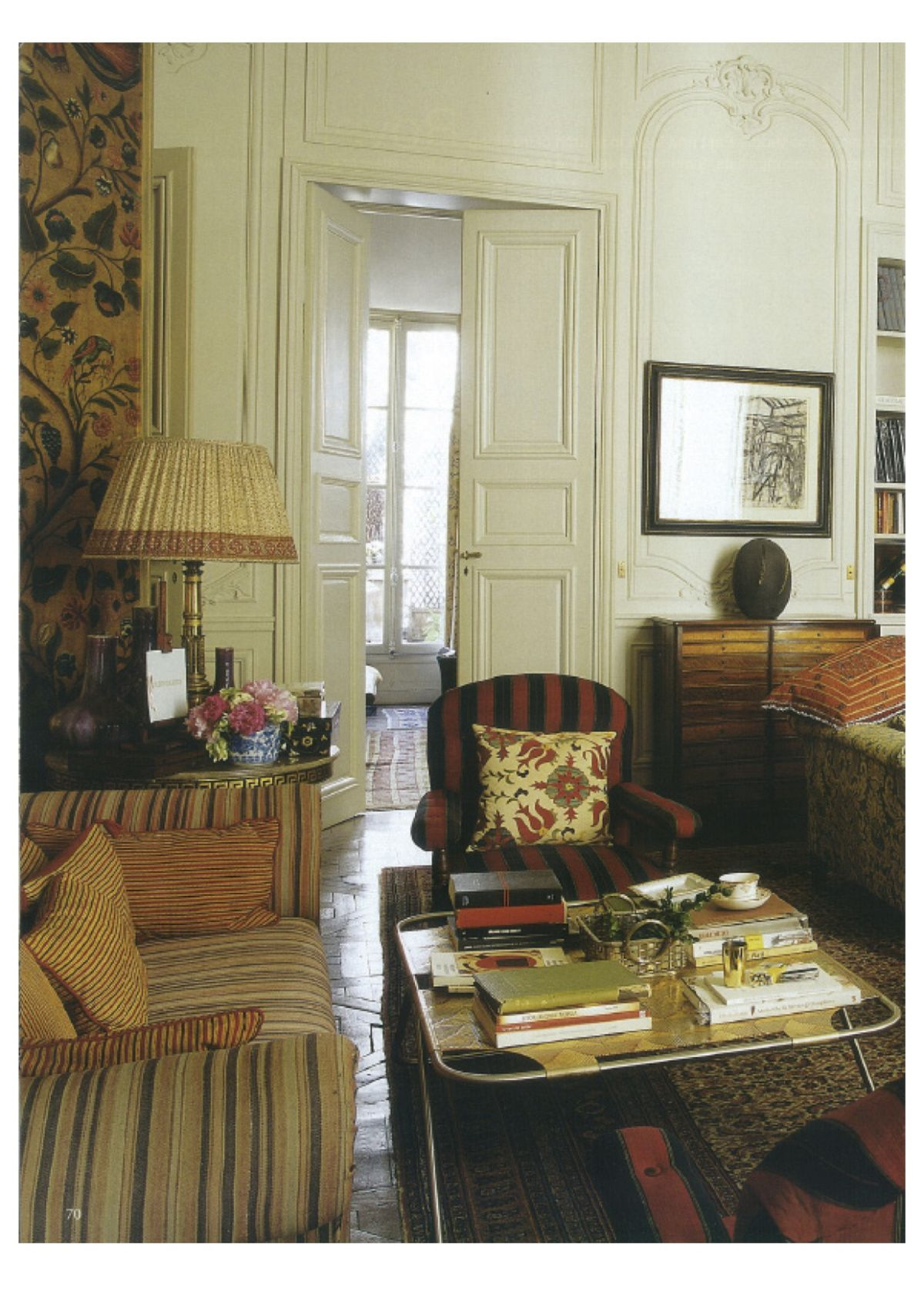 jennifer shorto world of interiors september 2009 paris apartments