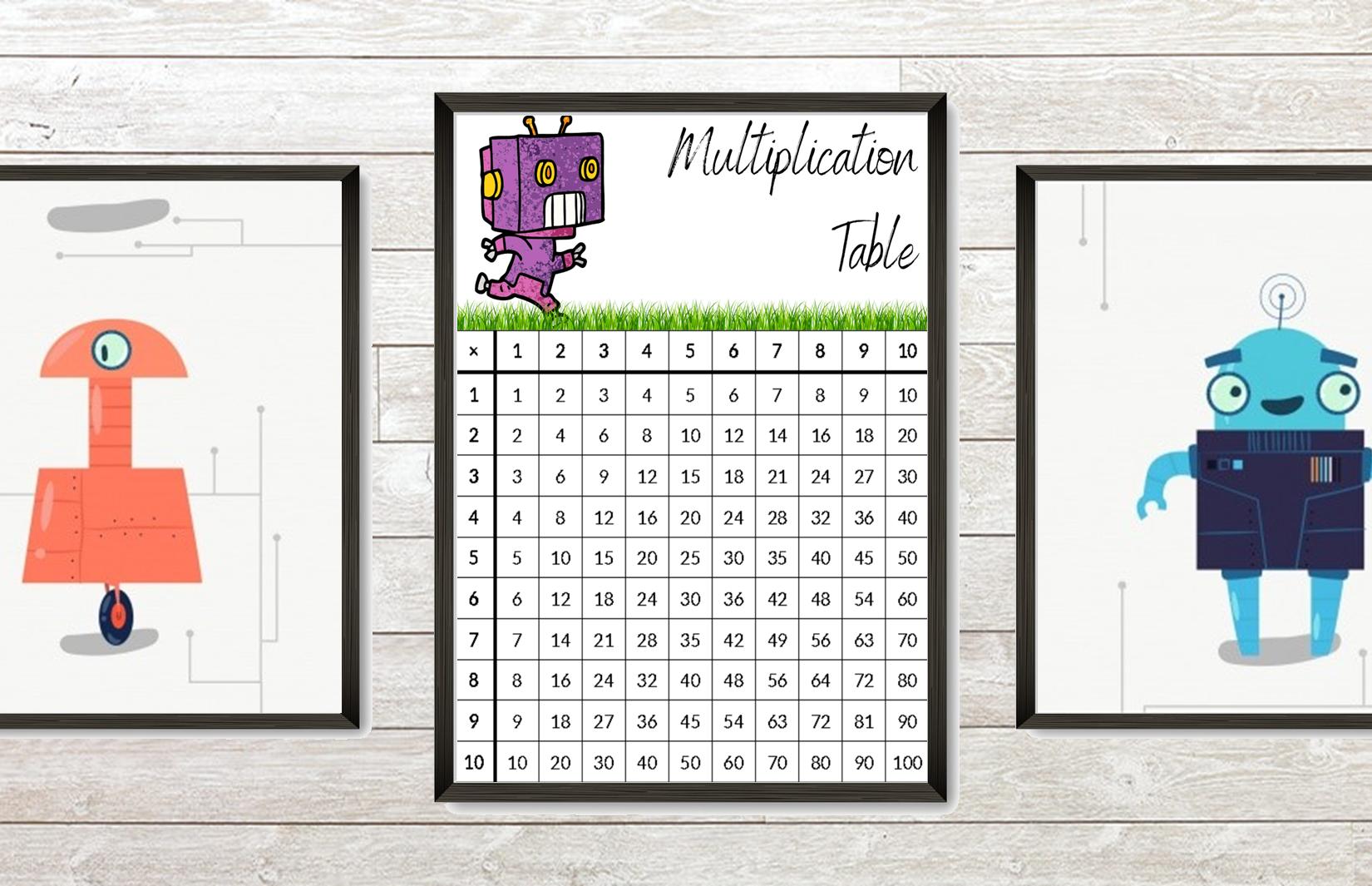 Printable Multiplication Table Practice Worksheets