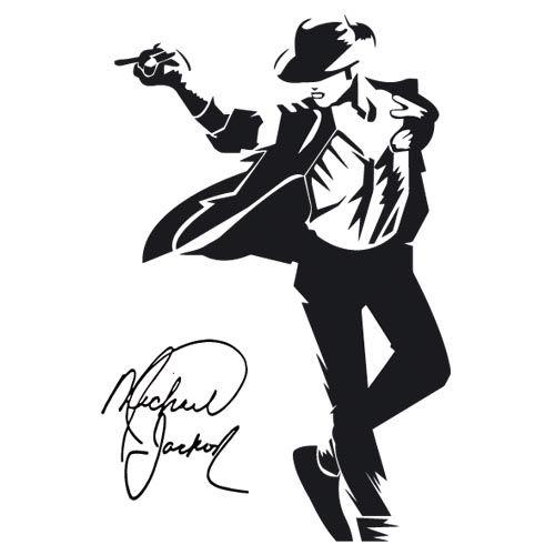 Michael Jackson Jpg 500 500 Preto E Branco Estampas Para
