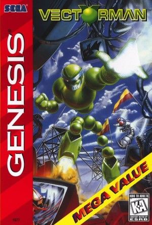 Vectorman Sega Genesis Classic Video Games Old Games Used