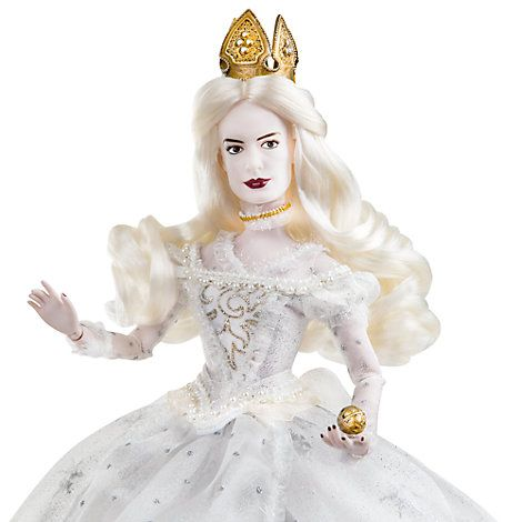 Alice Im Wunderland Hinter Den Spiegeln Die Weiße Königin Puppe