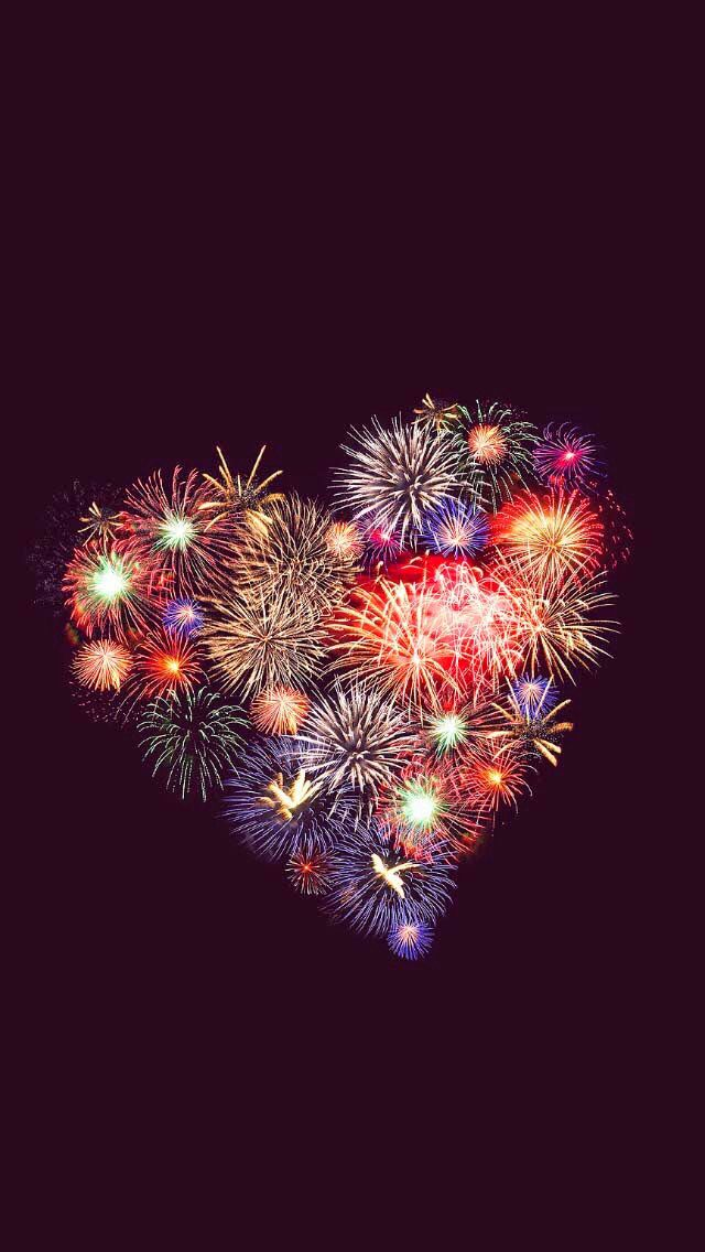 Heart Fireworks To Admire Pinterest Heart Fireworks And Love