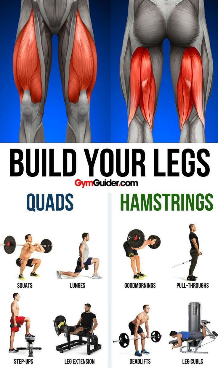 Build bulging bigger legs fast with this workout strong