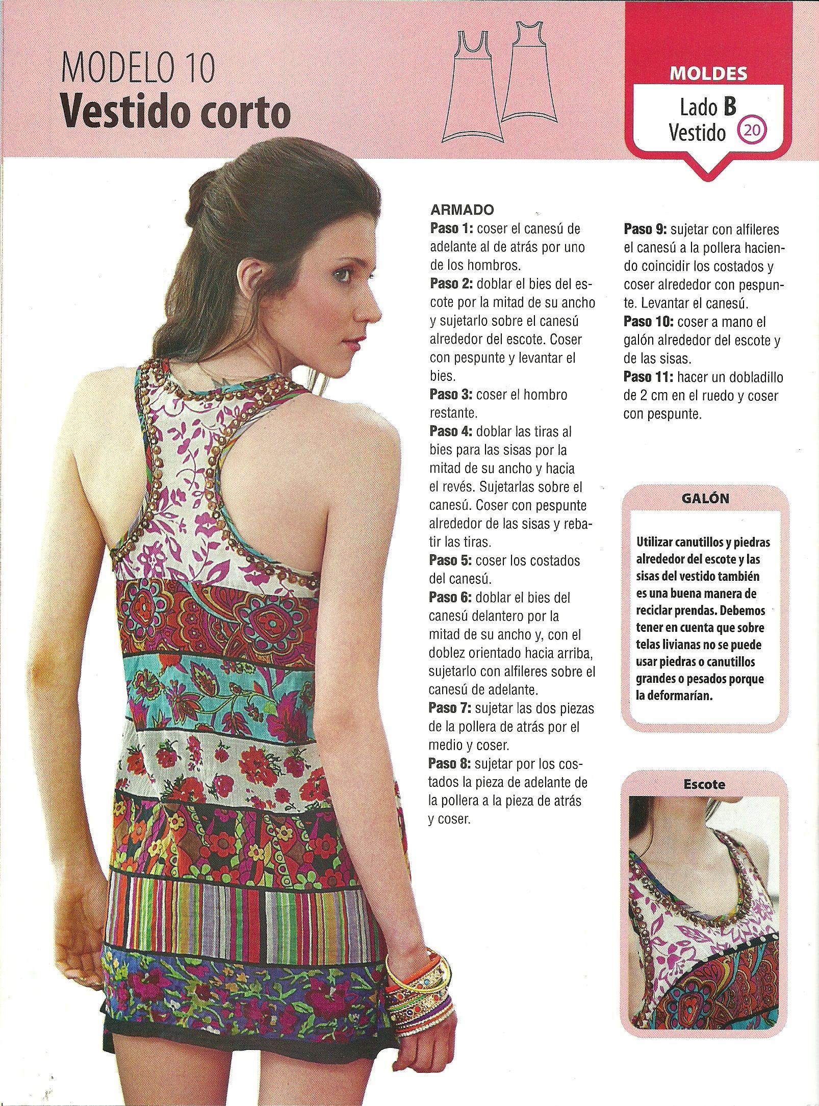 vestido B