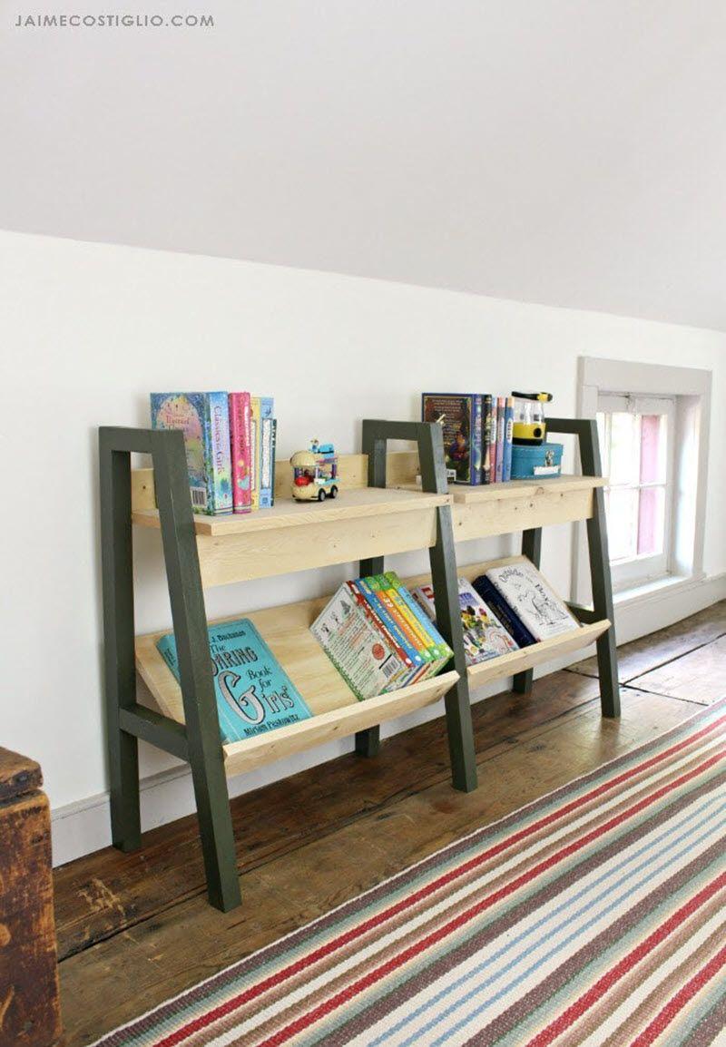 Get Easy DIY Bookshelf from jenwoodhouse.com