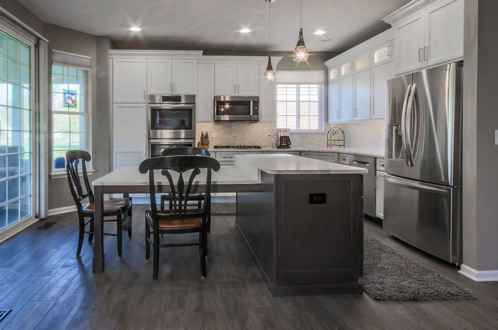 5 White Kitchen Remodels Before After Kitchen Renovations In 2021 White Kitchen Remodeling Kitchen Remodel Cottage Style Kitchen