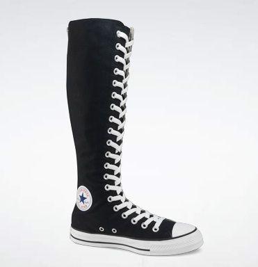 Knee High Converse | Knee high sneakers