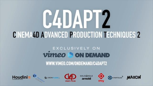 Cinema4d Advanced Production Techniques is back. The highly anticipated follow…