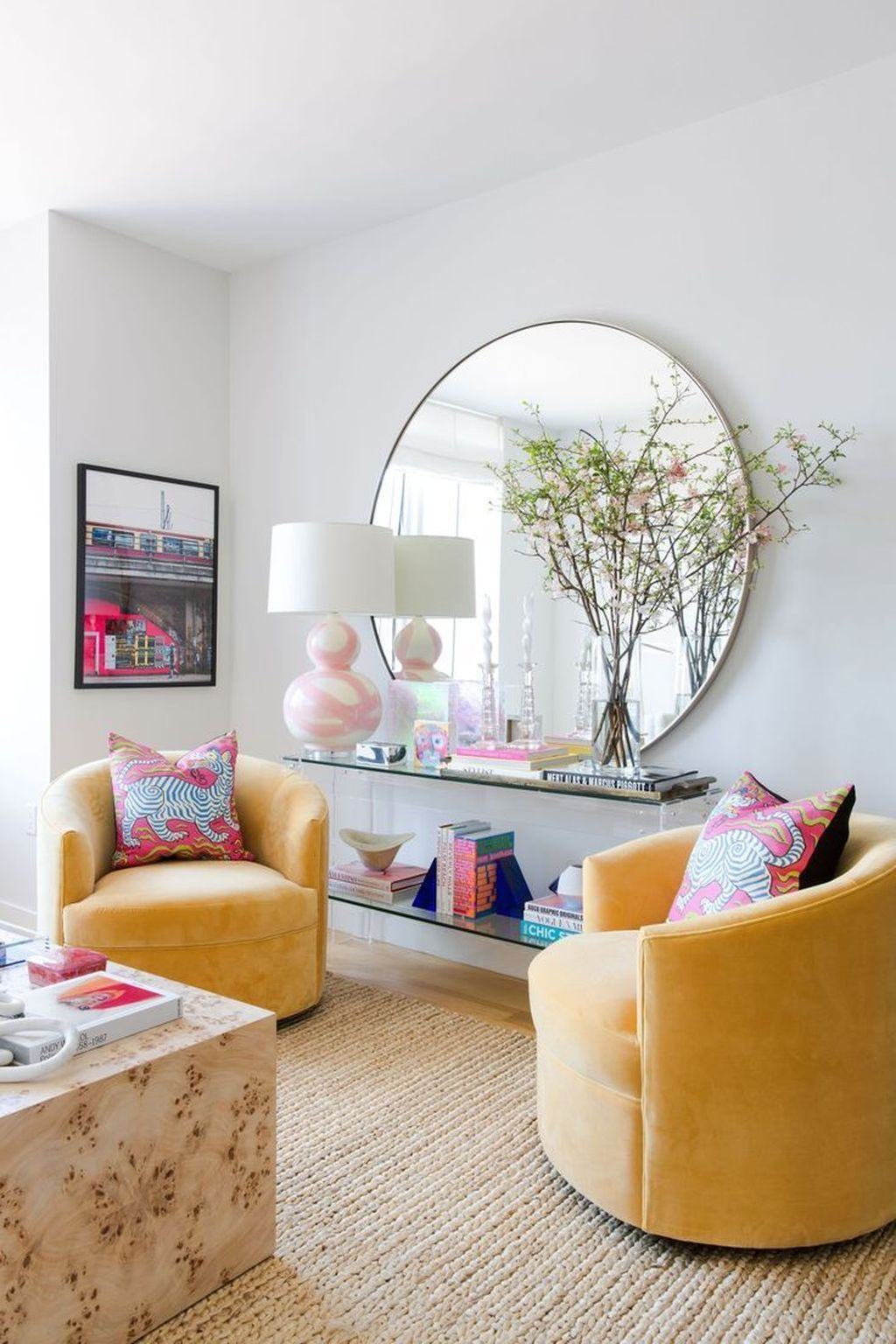 33 Lovely Colorful Living Room Ideas In 2020 Colourful Living