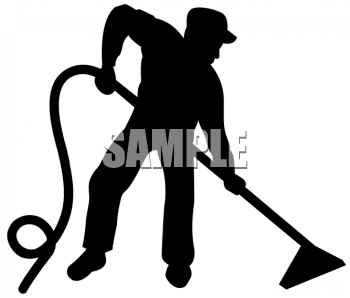 Steam Cleaning Vacuum Clip Art