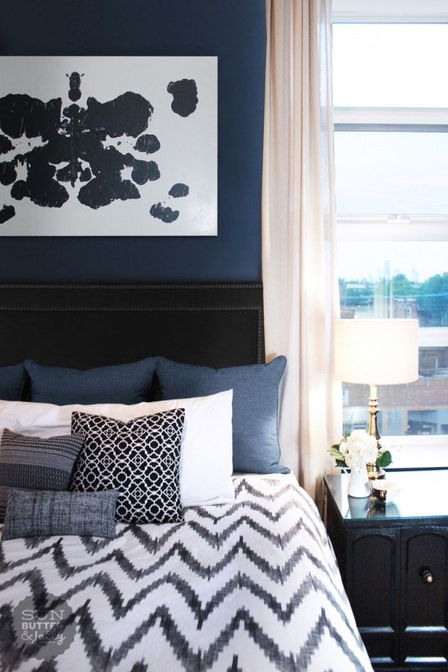 20 Marvelous Navy Blue Bedroom Ideas Blue Bedroom Decor Blue Bedroom Design Blue Bedroom
