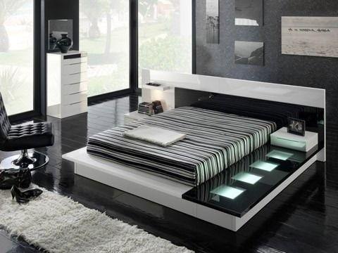 Juego De Dormitorio Moderno Minimalista | Juegos de dormitorio ...