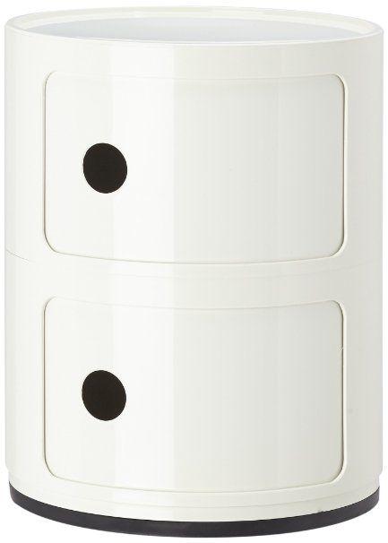 Kartell 496603 Componibili Meuble De Rangement Blanc Amazon Fr Cuisine Maison Meuble Rangement Kartell Kartell Componibili