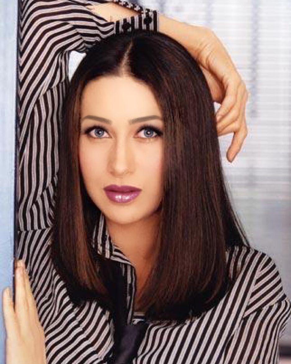 Karisma Kapoor Most Beautiful Indian Actress Bollywood Makeup Beautiful Indian Actress